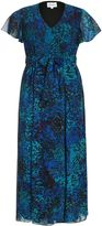 House of Fraser Threads Plus Size Angel Sleeve Maxi Dress