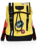 Bally Logo Patch Backpack