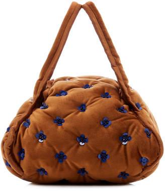 Khaore Pillow Quilted Velvet Bag