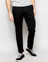 Diesel Chinos Chi-pitt Slim Fit In Black