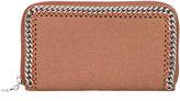 Stella McCartney Falabella top zip wallet