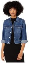 7 For All Mankind Shrunken Long Sleeve Jacket (Luxe Vintage Stellar) Women's Coat