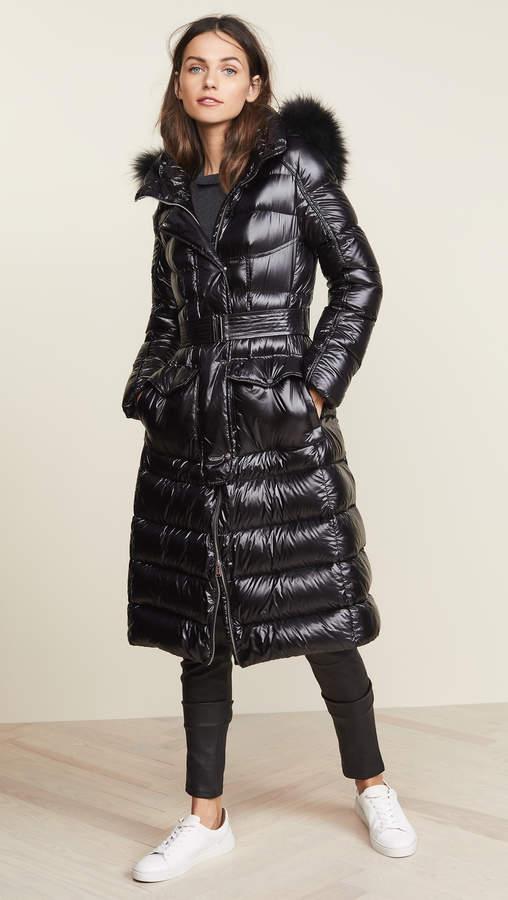 ADD Hooded Down Parka w/ Fur
