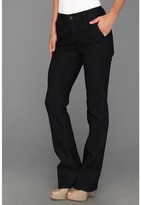 Jag Jeans Elisha Mid-Rise Refined Trouser in Dark Storm (Dark Storm) - Apparel