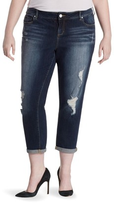 Hunter Boyfriend Cropped Jeans