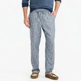 J.Crew Flannel pajama pant in duck print