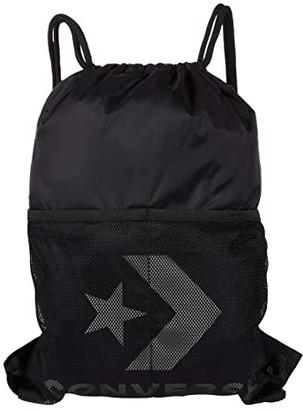 Converse Cinch Black/Metallic Silver) Backpack Bags