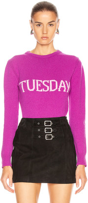 Alberta Ferretti Tuesday Sweater in Fantasy Violet | FWRD