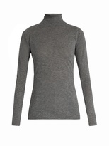 Velvet by Graham & Spencer Talisia high-neck long-sleeved T-shirt