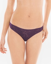 Soma Intimates Enticing Allover Lace Thong