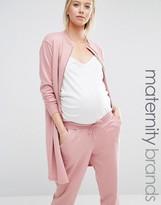 Bluebelle Maternity Longline Bomber