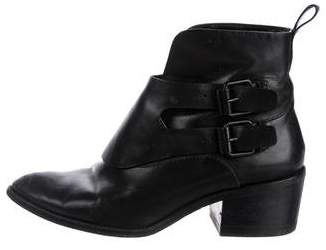 Alexander Wang Erin Pointed-Toe Ankle Boots