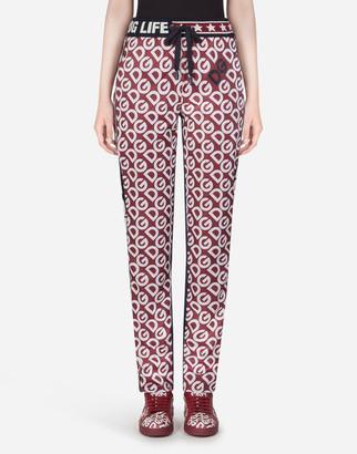 Dolce & Gabbana Jogging Pants With Logo Print