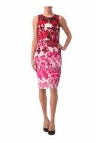Joseph Ribkoff Floral Ombre Dress