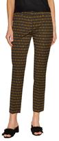 Prada Cropped Printed Pant