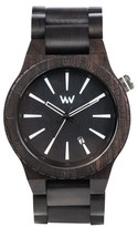 WeWood Men's Assunt Wood Bracelet Watch, 46Mm