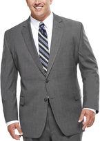 STAFFORD Stafford Travel Stretch Charcoal Windowpane Suit Jacket - Big & Tall