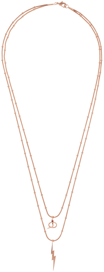 Ileana Makri I AM BY Thunder Snake Long Necklace