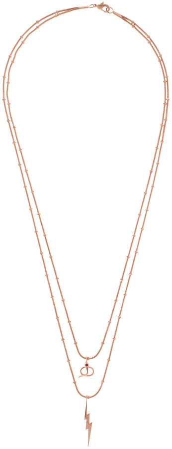 Ileana Makri I AM BY Thunder Snake Long Necklace