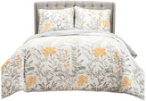 Lush Decor Aprile Quilt Yellow 3Pc Set King