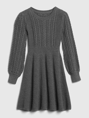 Gap Kids Cable Knit Sweater Dress