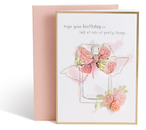 Marks and Spencer Perfume Bottle Birthday Card