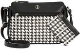 Giani Bernini Houndstooth Crossbody & Card Case Bundle, Created for Macy's