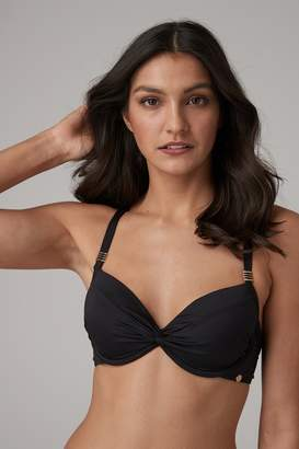 Next Womens Black Shape Enhancing Bikini Top - Black