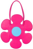 Moschino flower shoulder bag - women - Leather - One Size