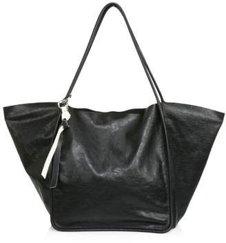 Proenza Schouler Extra-Large Super Glass Leather Tote Bag