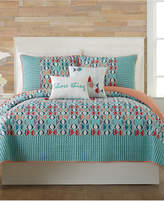 Vera Bradley Go Fish Twin Quilt Bedding
