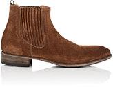 John Varvatos Men's Eldridge Suede Chelsea Boots