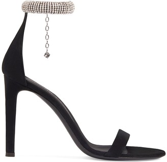 Giuseppe Zanotti Debbie jewel anklet sandals