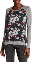 KUT from the Kloth Yalitza Floral Front Raglan Tee
