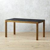 CB2 Perforated Marble Desk