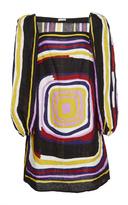 Tomas Maier Target Print Linen Dress