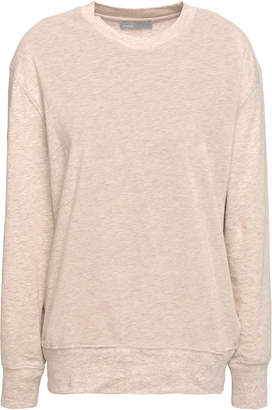 Vince Cotton And Wool-blend Jersey Top