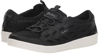 Skechers Madison Ave - My District (Black/White) Women's Lace up casual Shoes