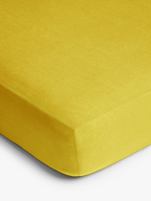 John Lewis & Partners 100% Linen Fitted Sheet