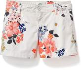 Old Navy Printed Chino Shorts for Girls