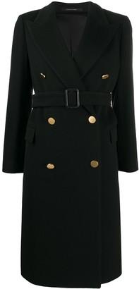 Tagliatore Jole double breasted coat