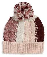 BCBGeneration Multicolor Knit Pom Beanie