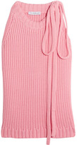 J.W.Anderson Ribbed Cotton Top - Pink