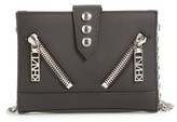 Kenzo Women's 'Kalifornia' Waterproof Leather Wallet On A Chain - Black