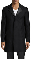 The Kooples Authentic Wool Outerwear Peacoat