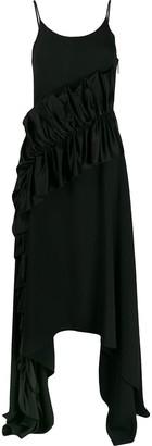 Christopher Kane satin frill cami dress