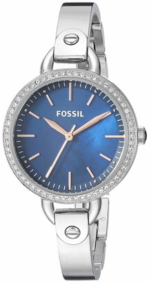 Fossil Women's Classic Minute Quartz Watch with Stainless-Steel Strap
