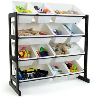 Humble Crew Toy Storage Organizer with 12 Storage Bins