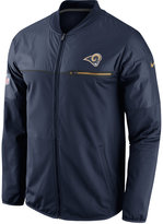 Nike Men's Los Angeles Rams Elite Hybrid Jacket