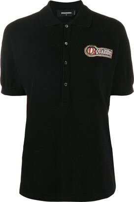 DSQUARED2 logo polo shirt